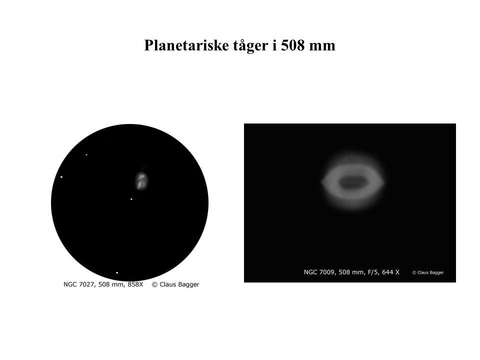 Planetariske tåger i 508 mm