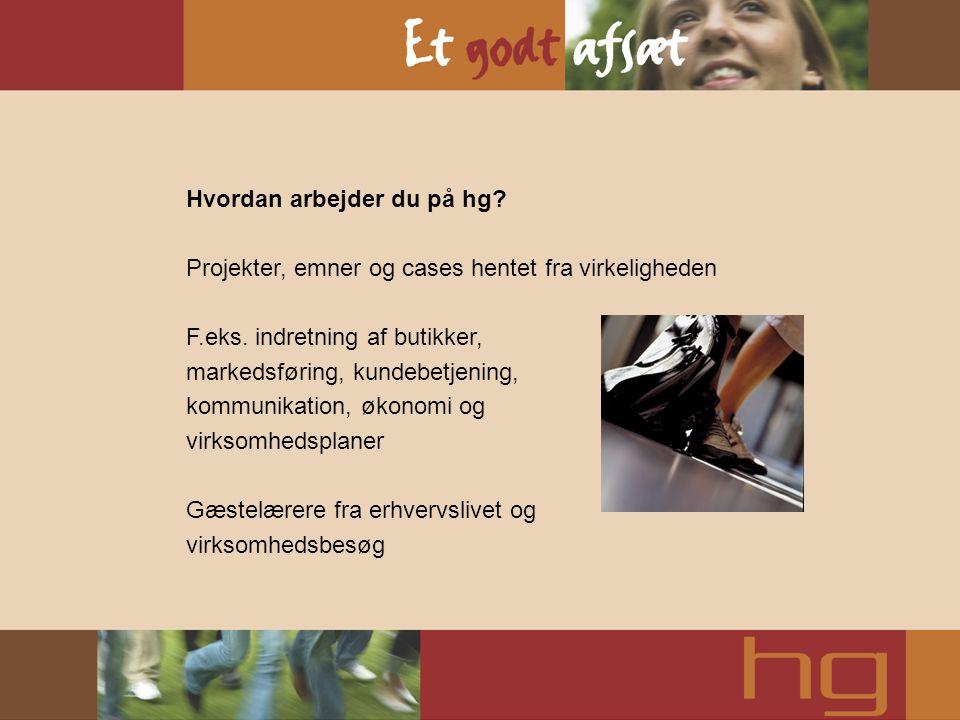 Grundfag Dansk, engelsk, erhvervsøkonomi, it, salg & service, samfundsfag, 2.