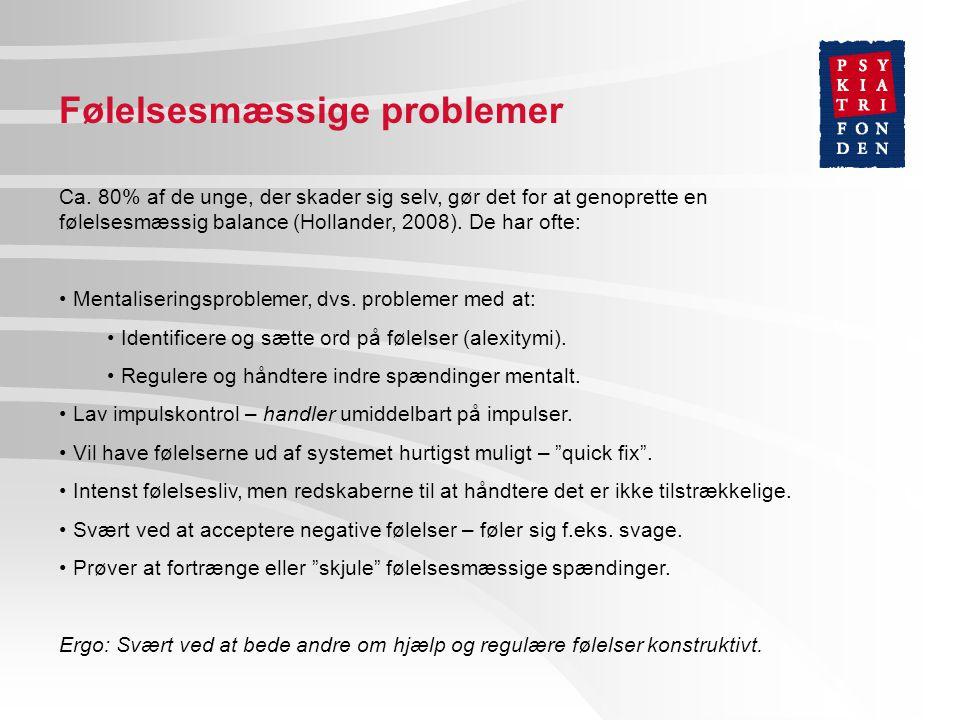 Den selvforstærkende cirkel Kilde: Bo Møhl/PsykiatriFonden, 2006