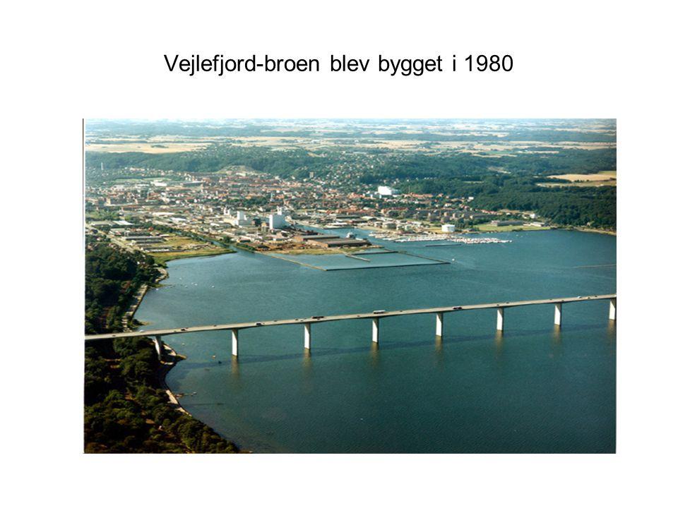 Vejlefjord-broen blev bygget i 1980
