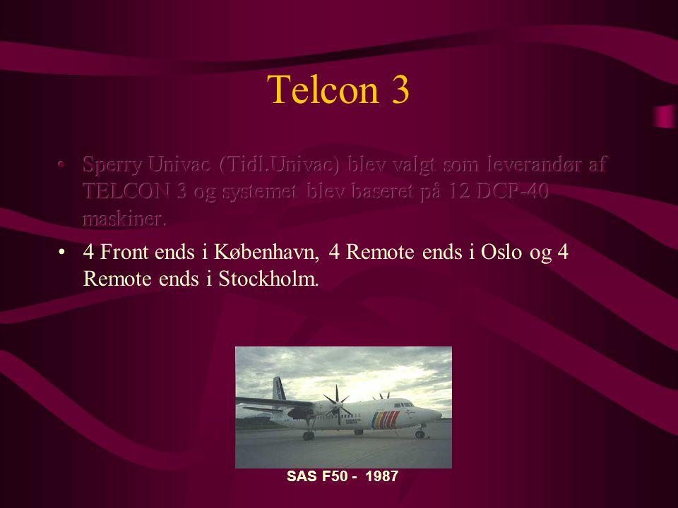Telcon 3 SAS F50 - 1987