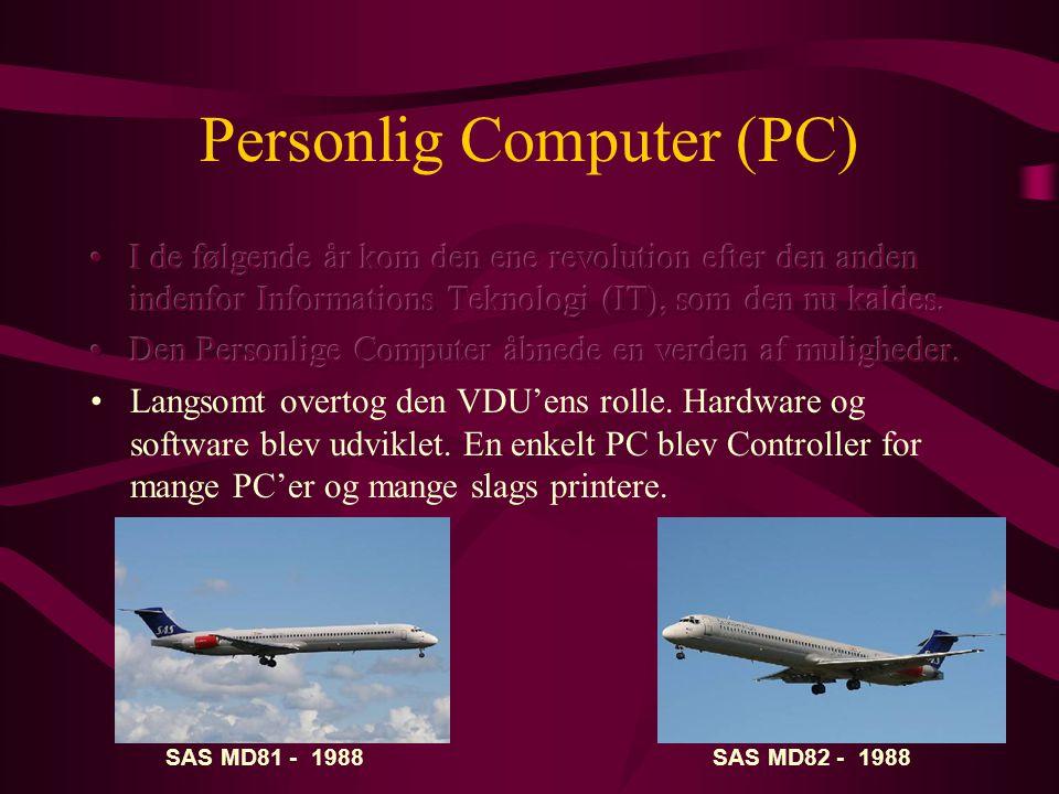 Personlig Computer (PC) SAS MD81 - 1988SAS MD82 - 1988