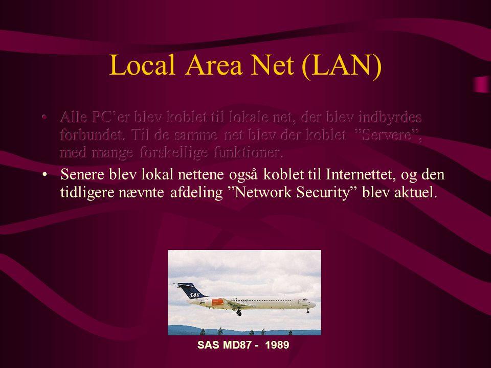 Local Area Net (LAN) SAS MD87 - 1989