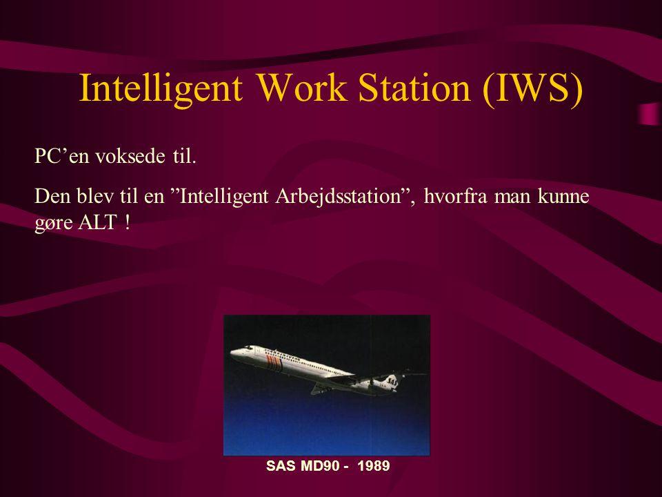 Intelligent Work Station (IWS) PC'en voksede til.