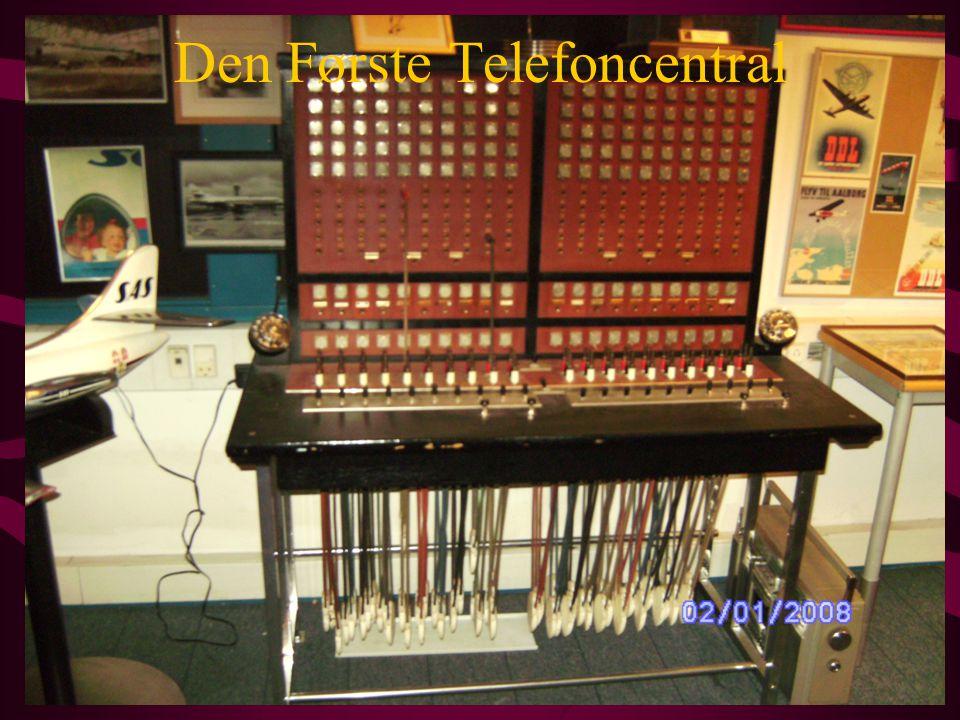 Den Første Telefoncentral