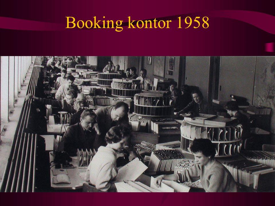 Booking kontor 1958