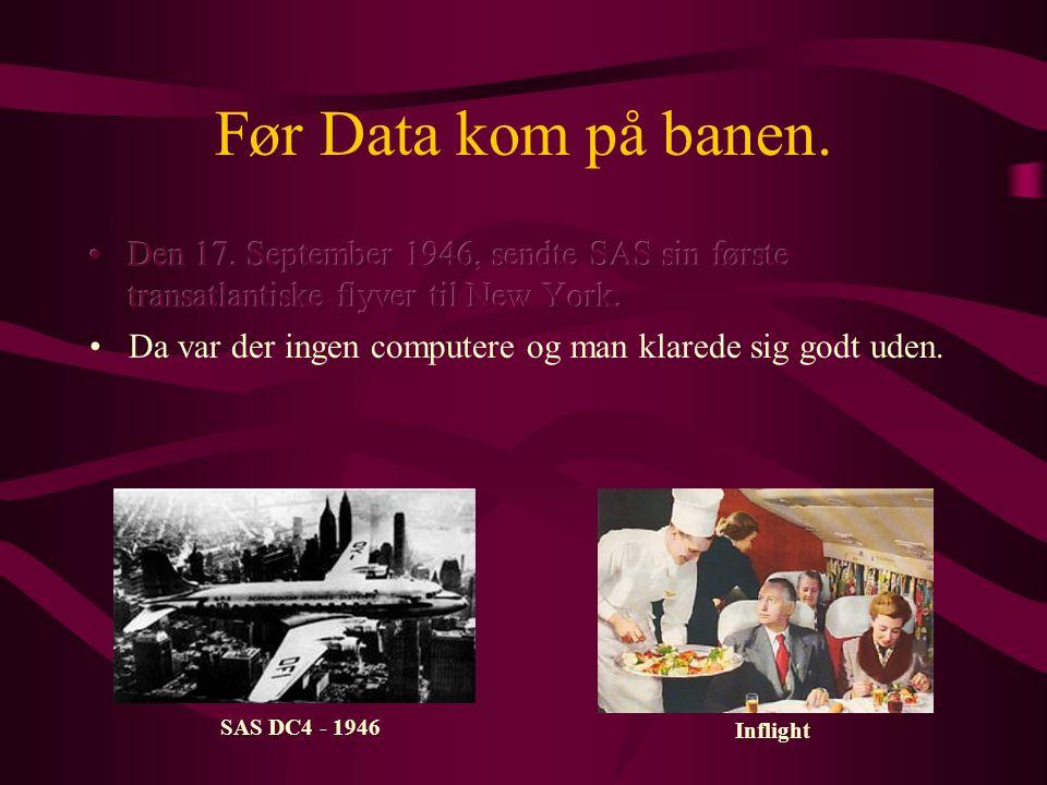 Afgangshal 1960 Nye problemer, nye computere IBM 305 RAMAC -1960 •SPAS løste ikke alle problemer.