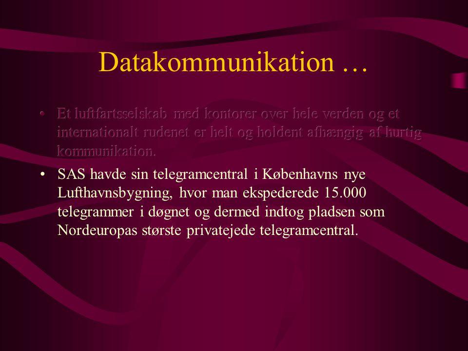 Datakommunikation …