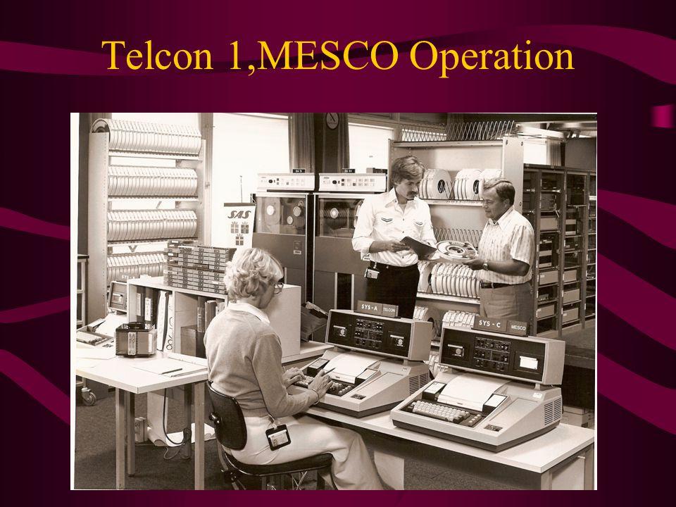 Telcon 1,MESCO Operation