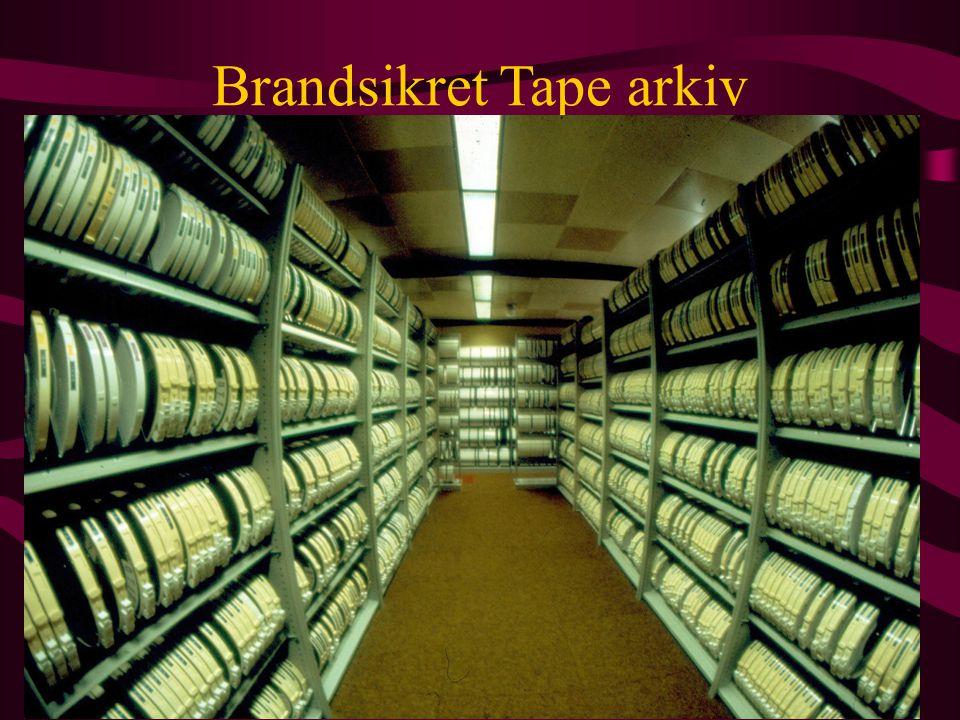 Brandsikret Tape arkiv