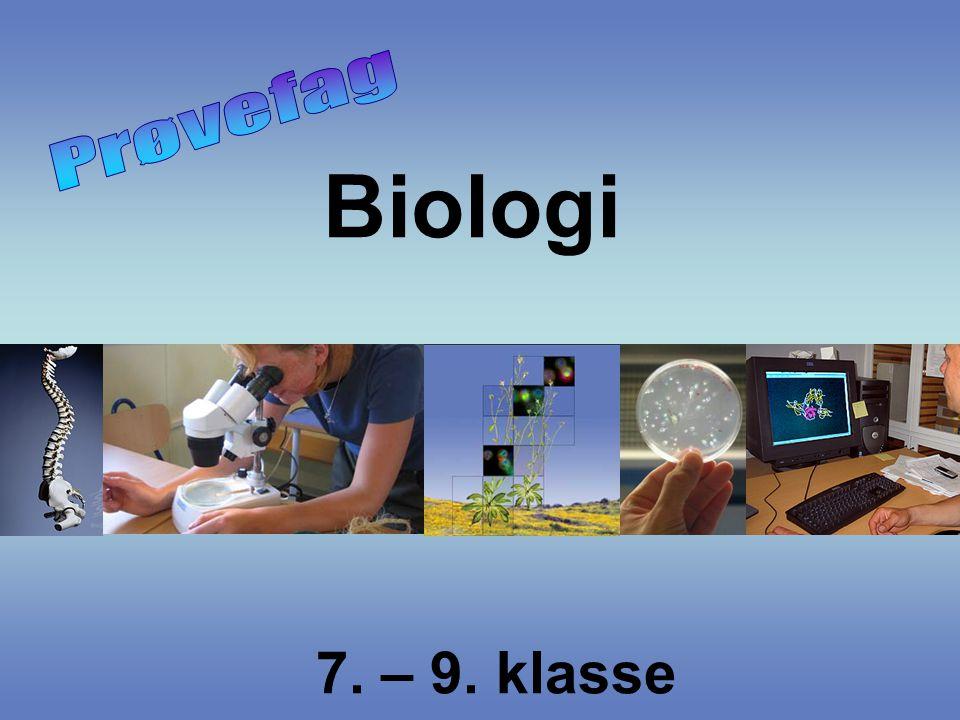 Biologi 7. – 9. klasse
