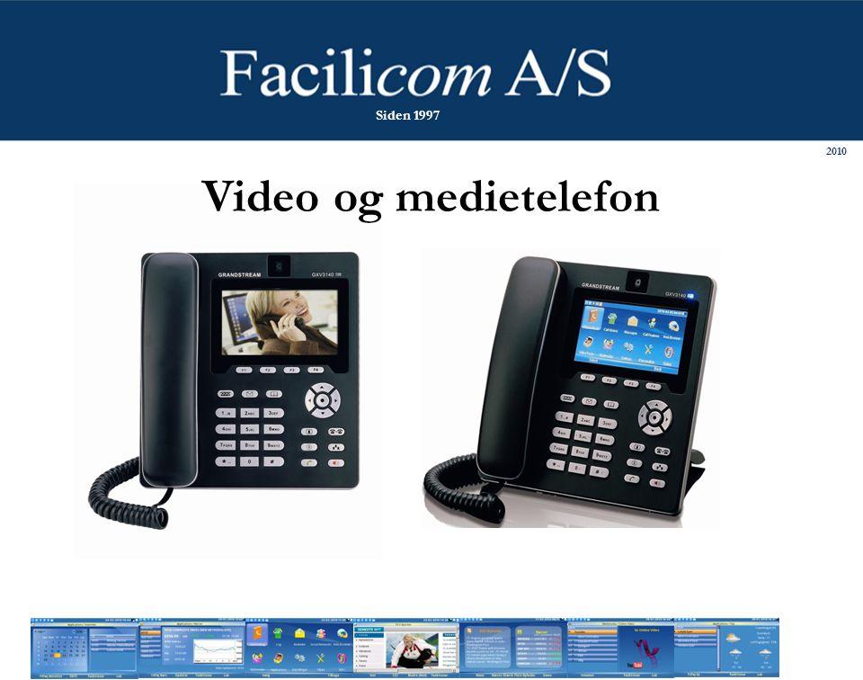 Video og medietelefon 2010 Siden 1997