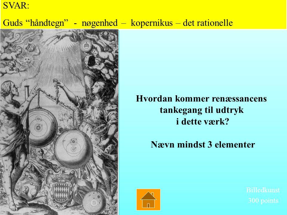 Hvorledes afspejler centralperspektivet Renæssancens humanistiske verdensopfattelse – generelt og i dette maleri? Hvorledes afspejler centralperspekti
