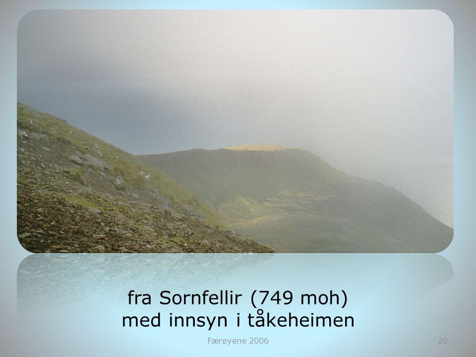 Færøyene 200620 fra Sornfellir (749 moh) med innsyn i tåkeheimen