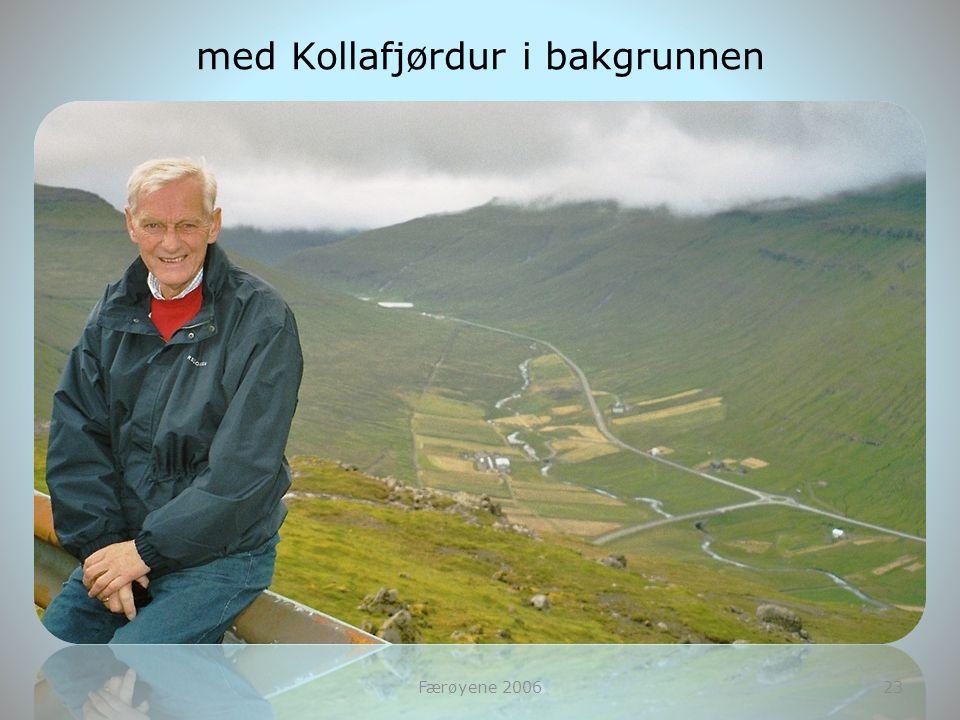 Færøyene 200623 med Kollafjørdur i bakgrunnen