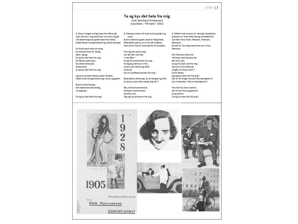 Tag og kys det hele fra mig Melodi: Bernhard Christensen (Leonard) - Tekst: Poul Henningsen Det er meget muligt by n har tårne på, men det mor mig altså mer en morn at gå i de dæmringslyse gader hjem fra Adlon, møde første morgenmænd og sidste natvogn.