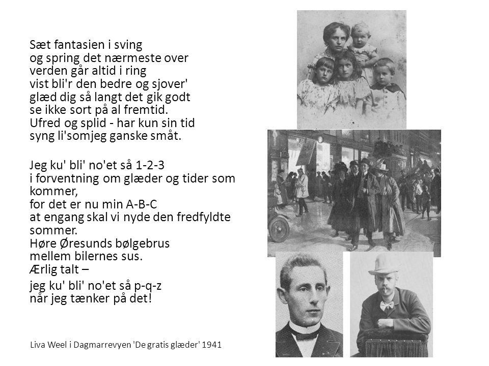 Fandens oldemor Melodi: Tim Spencer - Tekst: Poul Henningsen 1.