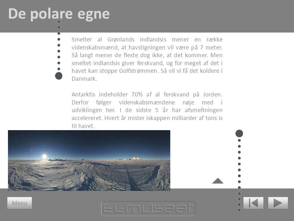 Smelter al Grønlands indlandsis mener en række videnskabsmænd, at havstigningen vil være på 7 meter. Så langt mener de fleste dog ikke, at det kommer.