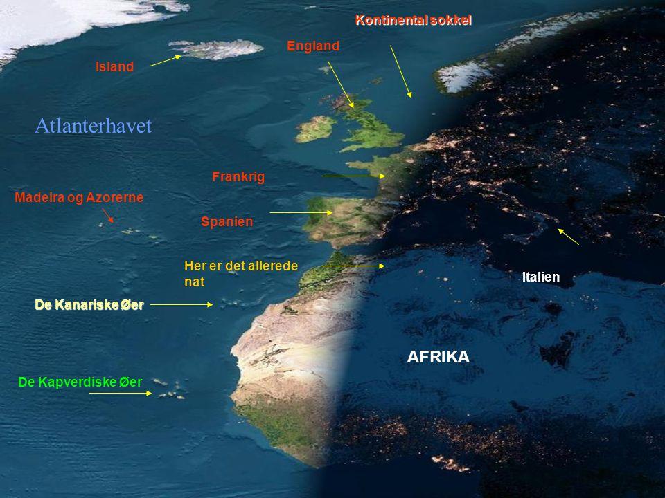 Storslået.Satellitbilleder af Europa og Afrika.
