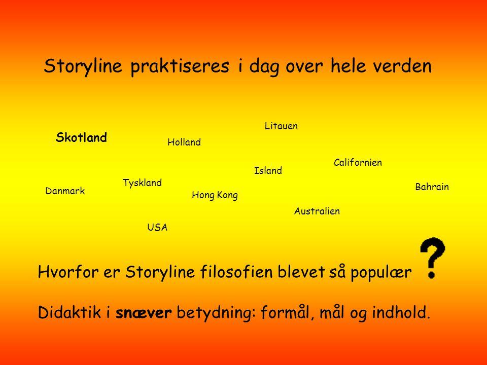Storylinemetoden Eksemplificeret ved et Harry Potter Storylineforløb Oplæg af Conni Camille Isgaard www.storylinemetoden.dk
