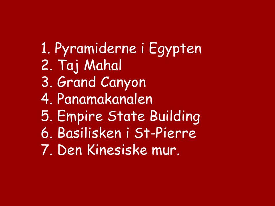 En lærer spurgte en dag sine elever om de kunne lave en liste over hvad de mente kunne være « Verdens 7 underværker » i vor tid. Det var forskellige s
