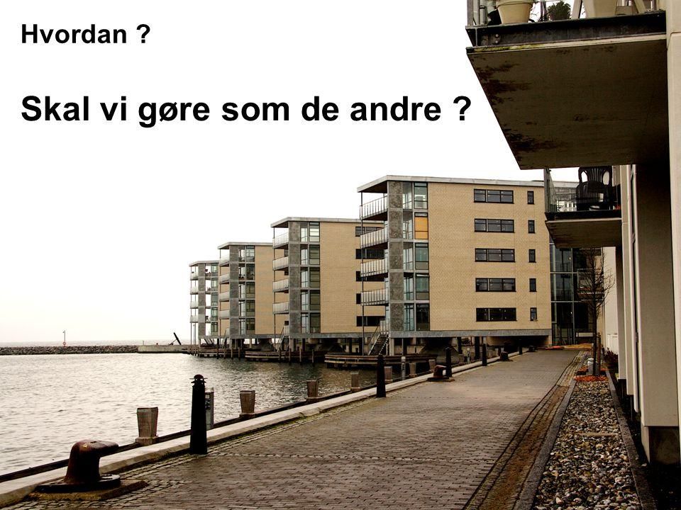 Konklusion • Nordre havnekaj for os alle .