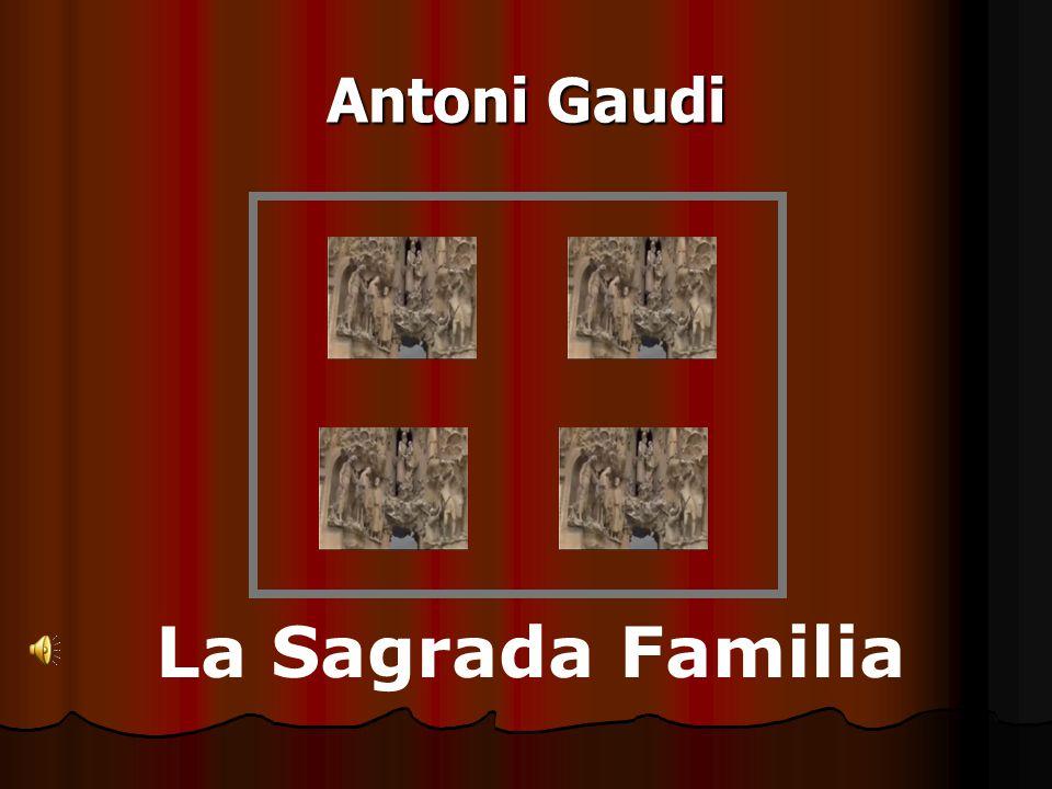La Sagrada Familia Arkitektur & Identitet Et bygningsværk i oplevelsesøkonomien