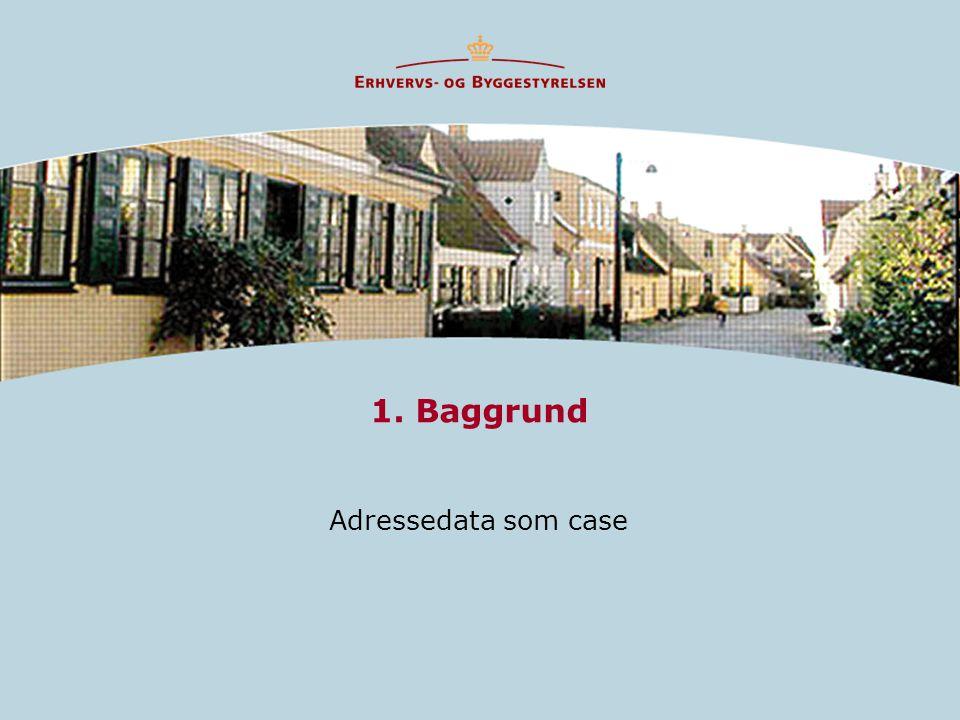 1. Baggrund Adressedata som case