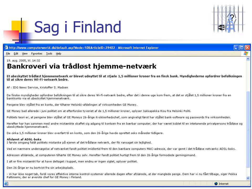 ? Sag i Finland