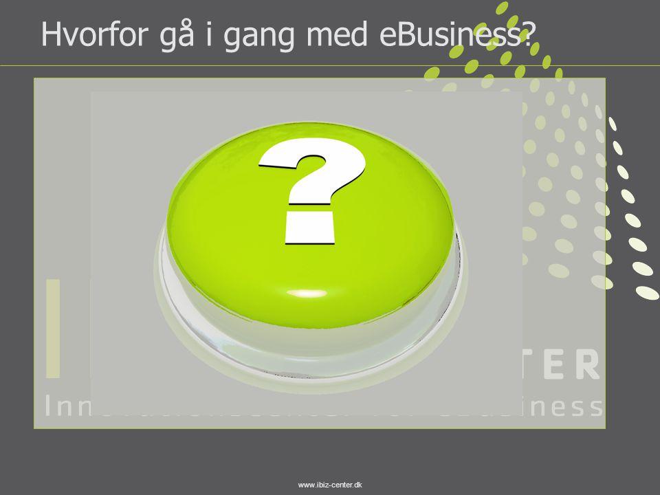 www.ibiz-center.dk Hvorfor gå i gang med eBusiness?