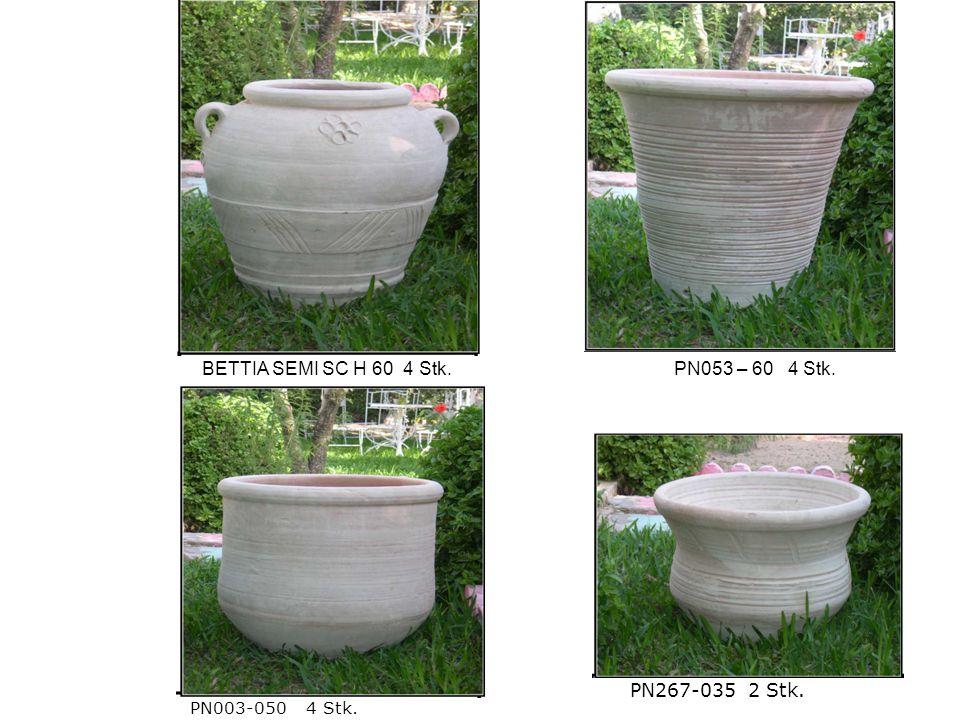 PN003-050 4 Stk. PN267-035 2 Stk. BETTIA SEMI SC H 60 4 Stk.PN053 – 60 4 Stk.