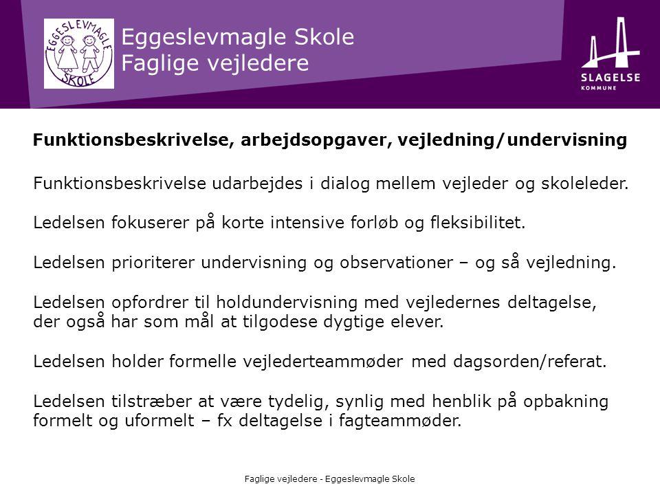 Eggeslevmagle Skole FREMTIDENS SKOLE – linjer i 7.-9.
