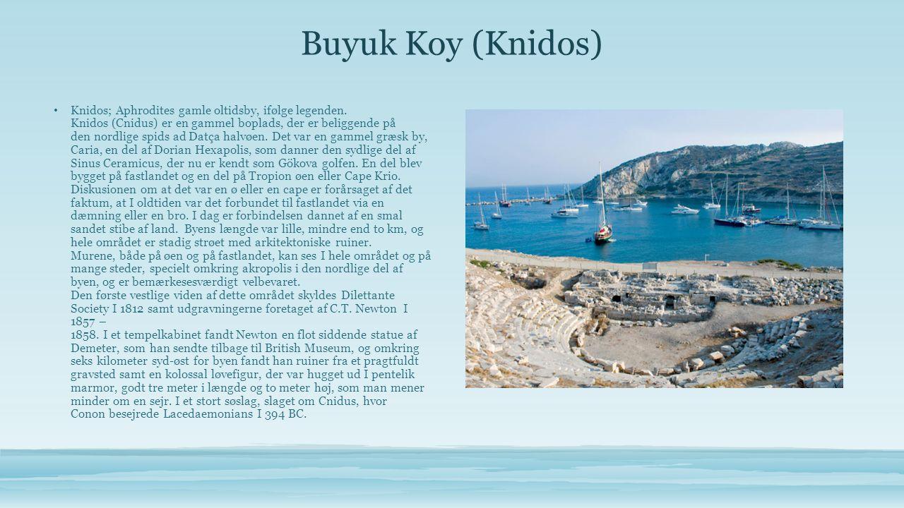 Bozukkale • Sejlads i farvandet ved Bozukkale er som at træde tilbage i tiden.