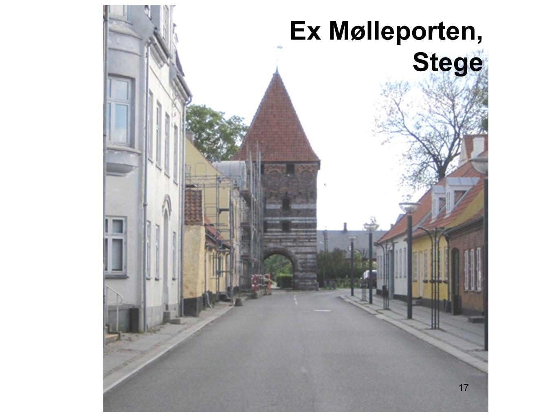 17 Ex Mølleporten, Stege