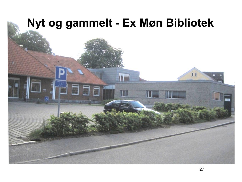 27 Nyt og gammelt - Ex Møn Bibliotek