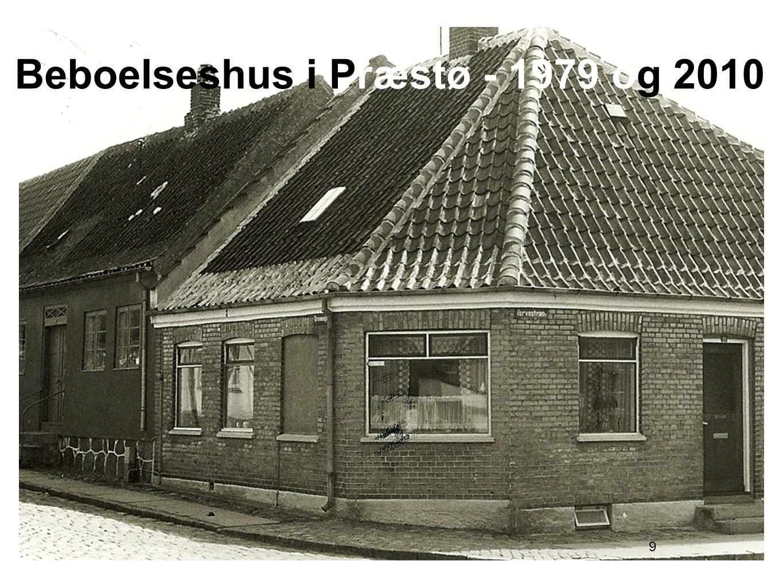 9 Beboelseshus i Præstø - 1979 og 2010