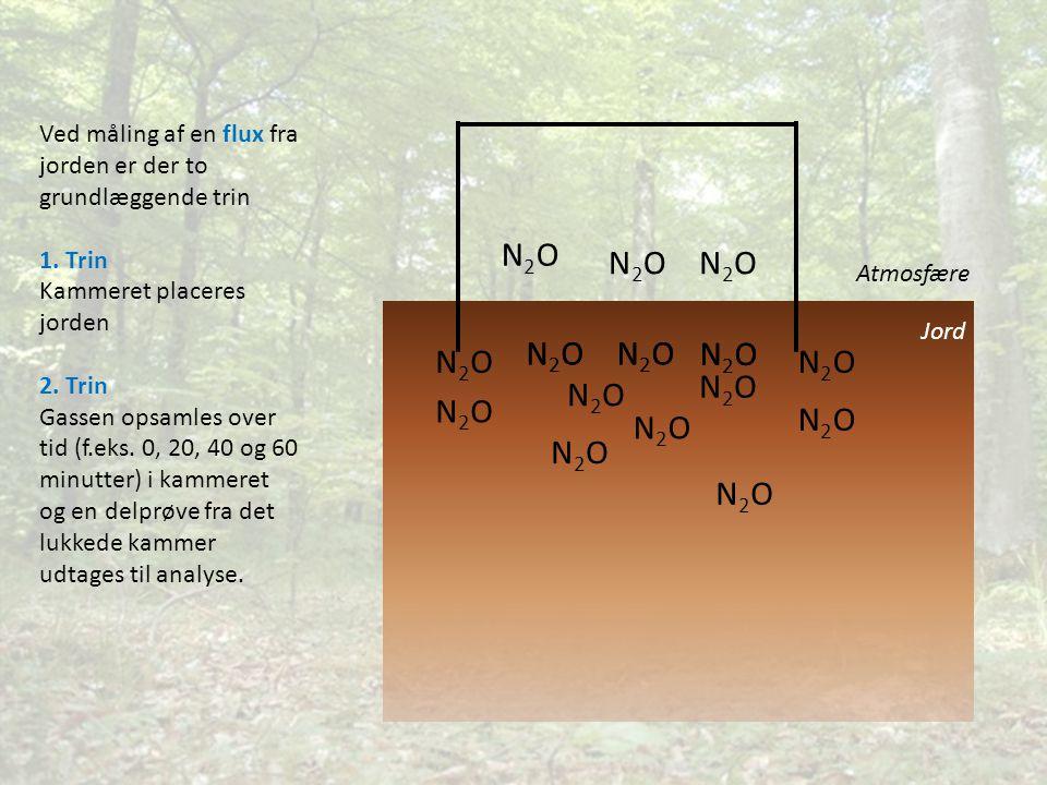 N2ON2O N2ON2O N2ON2O N2ON2O N2ON2O N2ON2O N2ON2O N2ON2O N2ON2O N2ON2O N2ON2O N2ON2O N2ON2O N2ON2O N2ON2O N2ON2O N2ON2ON2ON2O Jord Atmosfære Ved måling af en flux fra jorden er der to grundlæggende trin 1.