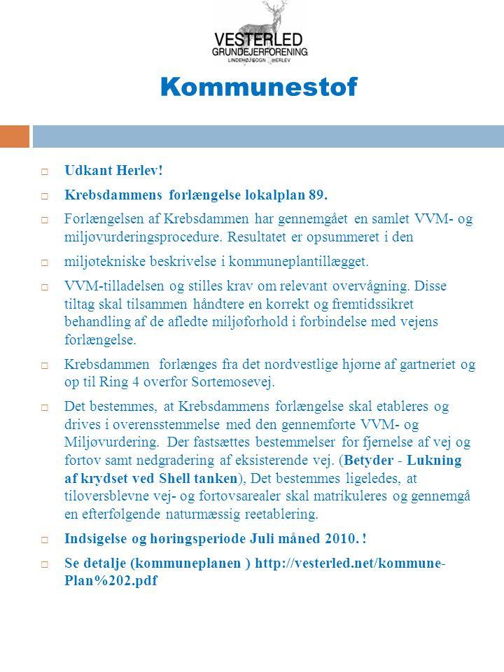 Kommunestof Således ser indsatsområderne for Herlev kloaksystem ud (5)!