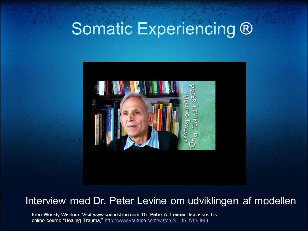 Somatic Experiencing ® Interview med Dr.