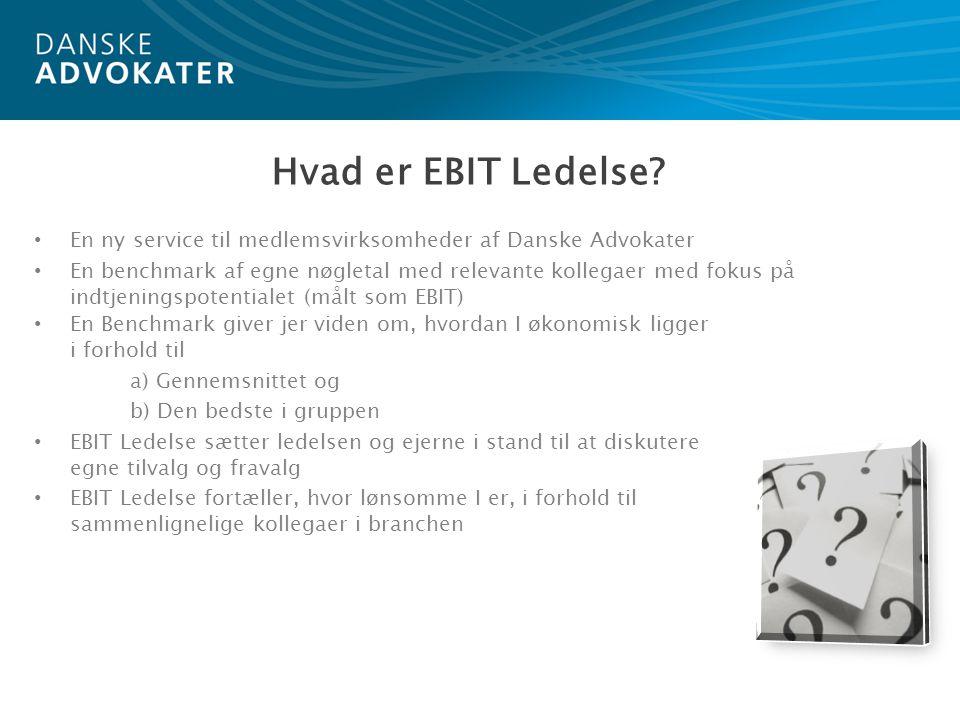 Hvad er EBIT Ledelse.