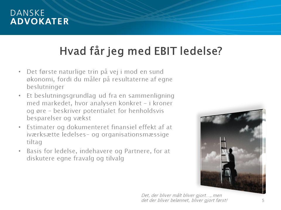Hvad får jeg med EBIT ledelse.