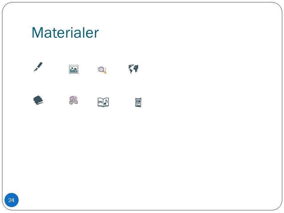 Materialer 24