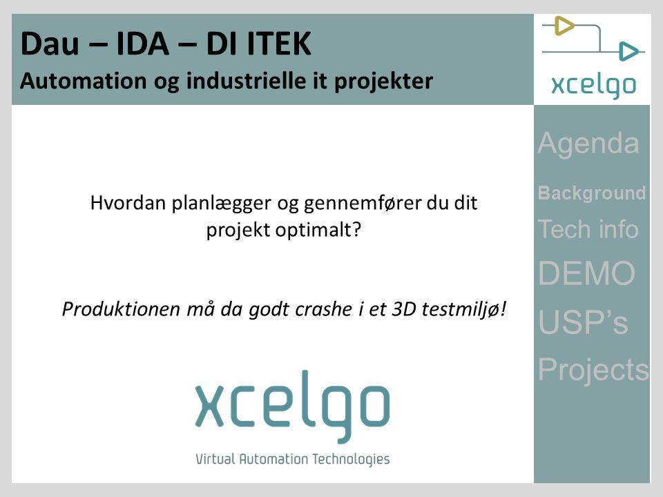 Dau – IDA – DI ITEK Automation og industrielle it projekter Hvordan planlægger og gennemfører du dit projekt optimalt.
