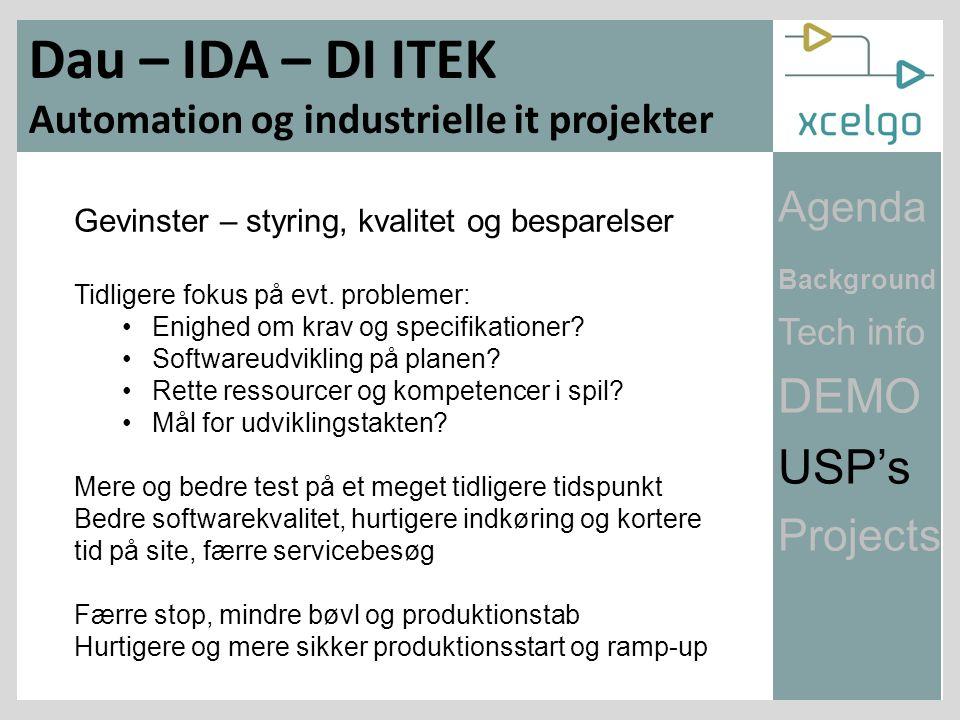 Gevinster – styring, kvalitet og besparelser Tidligere fokus på evt.