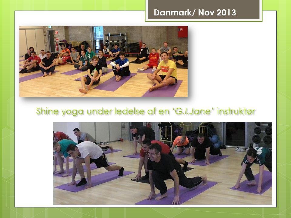 Shine yoga under ledelse af en 'G.I.Jane' instruktør