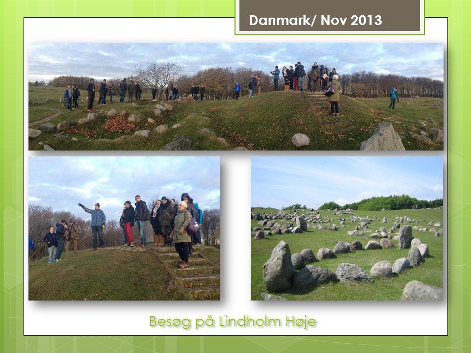 Danmark/ Nov 2013 Besøg på Lindholm Høje