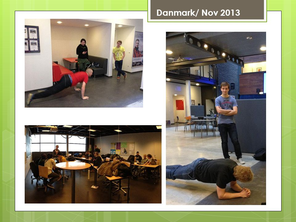 Danmark/ Nov 2013 Journée sport au NordKraft, ancienne centrale thermique convertie en salle de sport