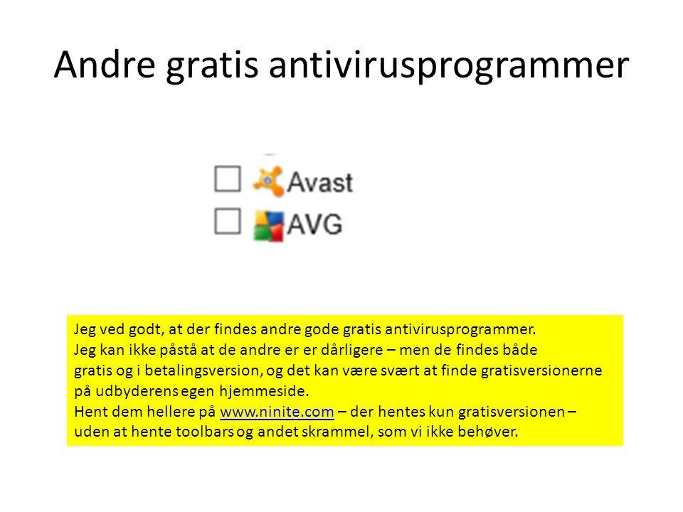 Microsoft Security Essentials Der findes en del gratis antivirusprogrammer af god kvalitet, men computerbladende bedømmer min favorit helt i top.