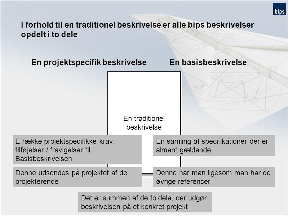 Opbygning af en beskrivelse, et eksempel Basisbeskrivelse, projektspecifik paradigme og projektspecifik tilføjelse - fx tagdækning Basisbeskrivelse 3.5.2.2 Stål Stk.