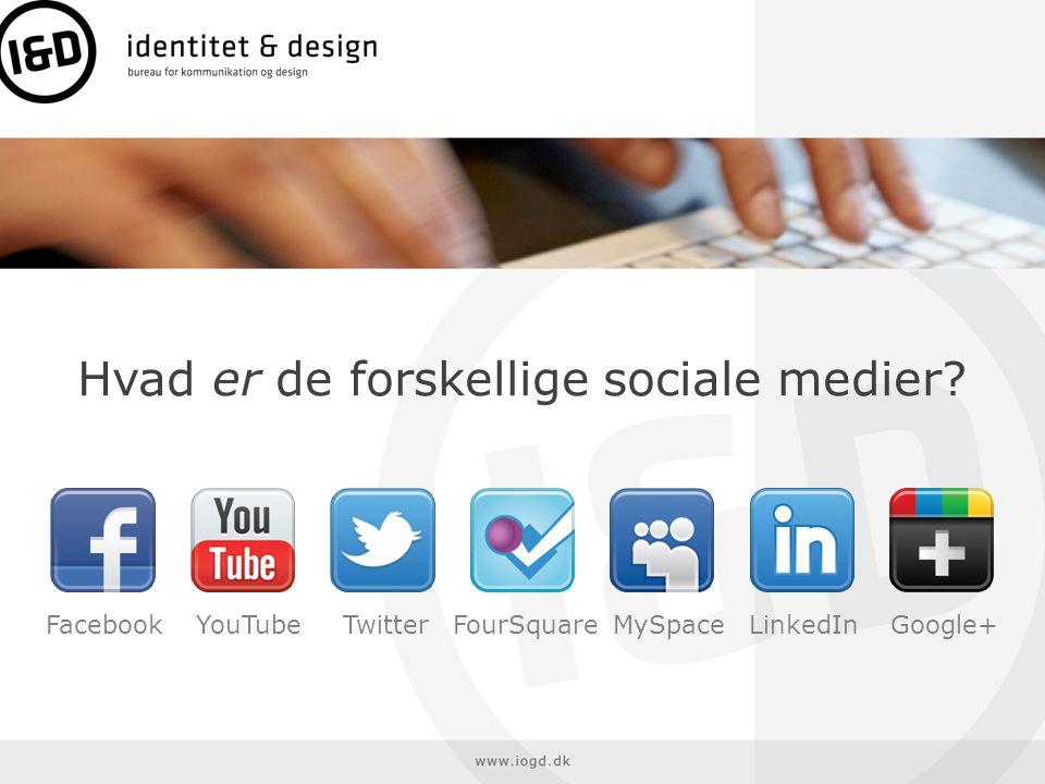 identitet & design • Man har sin egen hjemme-profil.